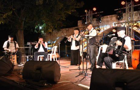 פסטיבל הכלייזמרים: אין כמו צפת בלילות