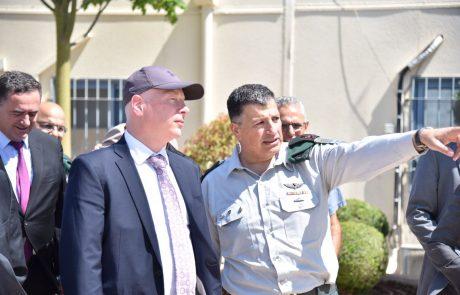 US envoy visits Gilboa crossing