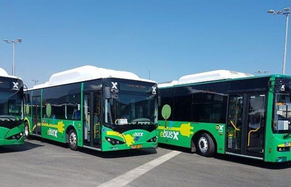 מתחדשים: אגד תצטייד בעוד 10 אוטובוסים חשמליים לטובת מערך ההסעה הציבורית בירושלים