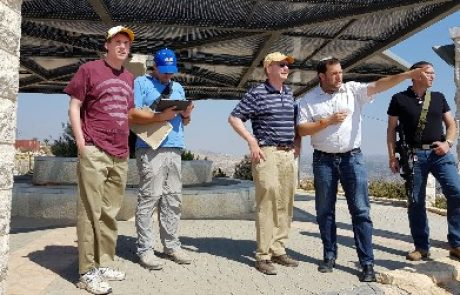 Special tourist in Samaria: Congressman Kate Rottfuss