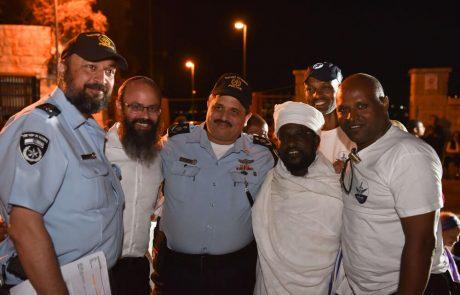 מסע לציון עלייתם של יהודי אתיופיה לישראל – בשיתוף משטרת ישראל